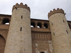 Zaragoza - Palacio de la Aljafería  siglo XI