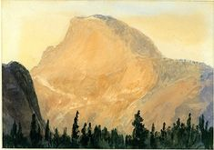 Wandering Silent Vertexes and Frozen Peaks: THE HALF DOME PAINTED BY ARTHUR P. COLEMAN