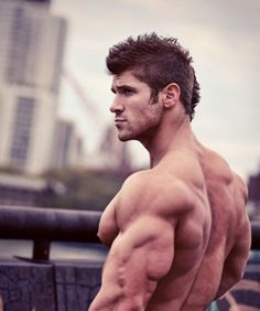 Nice triceps  back   the haircut :) #bodybuilding