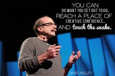 David Kelley encourages us to face our fears when it comes to creativity at TED2012