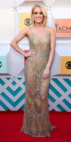See All the Best Looks from the 2016 Academy of Country Music Awards - Carrie Underwood  - from InStyle.com