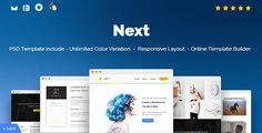 Next - Responsive Email and Newsletter Template . Next has features such as High Resolution: Yes, Compatible Browsers: Gmail, Yahoo Mail, Microsoft Outlook, Thunderbird, Hotmail, Apple Mail, Compatible Email Services: Campaign Monitor, FreshMail, ActiveCampaign, iContact, Columns: 4+