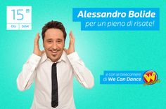 Alessandro Bolide di Made in Sud a Magic World domenica 15 giugno!  Il video: http://www.magicworld.it/?p=40165