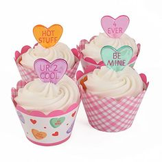 Valentine 24 Reversible Cupcake Wraps and 24 Cupcake Toppers Bakery Crafts http://www.amazon.com/dp/B00RLQ23UG/ref=cm_sw_r_pi_dp_0JPTub0Q69RZT