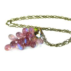 Grape Cluster Neckla