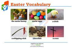 Easter Bunny, Easter Eggs, Vocabulary, Vocabulary Words