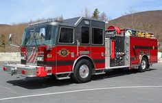 Flint, MI FD KME Predator™ Severe Service Chassis 1750/750 Pumper.