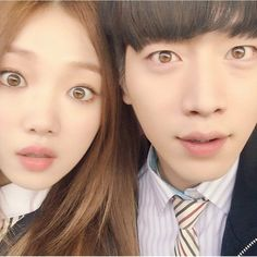 Lee Sung Kyung & Seo Kang Joon #CheeseInTheTrap