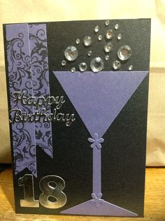 18th birthday card - the craftree / libjj