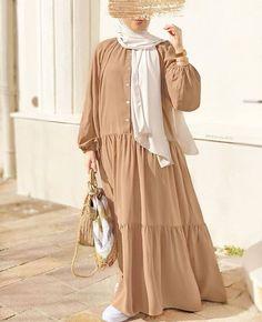 Hijab Fashion Summer, Modest Fashion Hijab, Modern Hijab Fashion, Hijab Style Dress, Street Hijab Fashion, Muslim Women Fashion, Modesty Fashion, Hijab Fashion Inspiration, Abaya Fashion