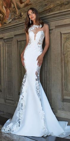 Chic bridal gowns with a modern style