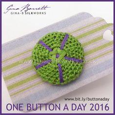 Day 152: Gawain #onebuttonaday by Gina Barrett