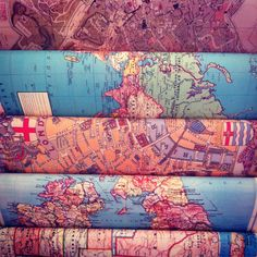 Madison, WI 5/1 #MWDenimRoadtrip  maps fabric travel <3