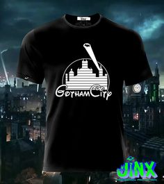 $179.00 Playera o Camiseta Gothamland Batman Disney - Jinx