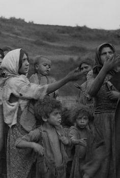 Gypsy women and children, Transylvania, circa 1937. Photograph by Dorothy Hosmer