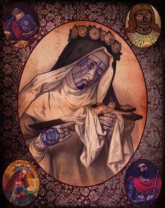 créations de l'artiste espagnol Ramon Maiden