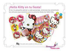 Todo para tu fiesta de Hello Kittyen México solo en Siempre Fiesta. http://www.siemprefiesta.com/fiestas-infantiles/ninas/articulos-hello-kitty.html?utm_source=Pinterest&utm_medium=Pin&utm_campaign=HelloKitty