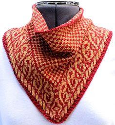 Ravelry: Cimarron Bandana Cowl pattern by Margaret Briggs Ramirez, aka MaggieBelize