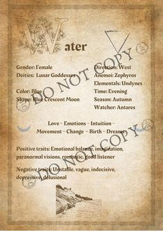 Positive Traits, Negative Traits, Wiccan Rede, Parchment Background, Remove Wax, Elemental Magic, 4 Element, Wicca Witchcraft, Good Listener