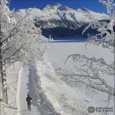 Exploration & Photo by @skiantogalattico Location / St. Moritz, Switzerland