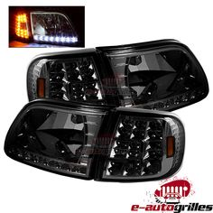 HS Power Smoke Led Rear 3Rd Third Brake Lamp Tail Light Aw 99-16 for Ford F250//F350 Superduty