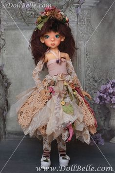 Kaye Wiggs MSD BJD OOAK handmade outfit by Kim Arnold for The Trinket Box