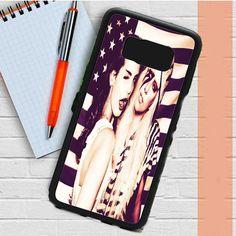 Lana Del Rey And Lady Gaga American Flag Samsung Galaxy S8 Plus Case Dewantary