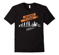 Evolution T Shirt, Biker T Shirts, Gift Ideas, Amazon, Funny, Mens Tops, Black, Fashion, Moda
