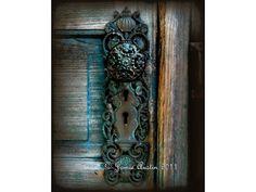 antique door knobs   The Farm Door Knob 8X10 Fine Art Print by SpringHouseCreations