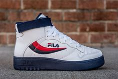 Fila Drops the FX-100 in White, Navy & Red Colorway - EU Kicks: Sneaker Magazine