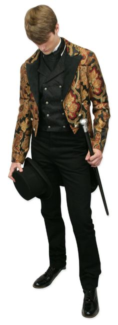Vienna Brocade Tailcoat - Gentleman's Emporium