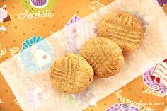 FLORES DE OLIVEIRA: Bolachas de manteiga de amendoim