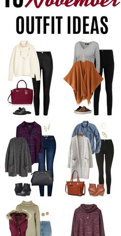 fall outfits 2019 Welcome to the What to Wear This Month series! Here are 15 November outfit ideas. Last months October outfit ideas were all about sharing some fall trends, as well a Casual Winter Outfits, Casual Fall Outfits, Winter Layering Outfits, Early Fall Outfits, Winter Fashion Casual, Fall Fashion Outfits, Dress Casual, Look Fashion, Autumn Fashion