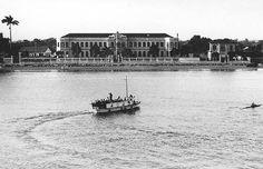 Novo Milênio: Santos - fotos antigas - Museu de Pesca, cerca de 1945