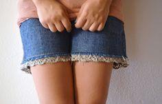 sundaymorning: Trasformare i propri shorts con 1 euro