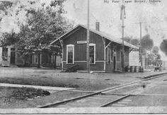 Decatur County History: Railroad Depot at Burney IN