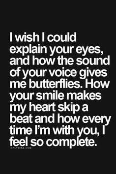 All the words in the world couldn't explain. Deep Quotes About Love, Love Quotes For Him, Great Quotes, Me Quotes, Inspirational Quotes, Qoutes, Romantic Sayings For Him, Making Love Quotes, Sweet Romantic Quotes