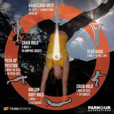Parkour Generations Body Armour Workout