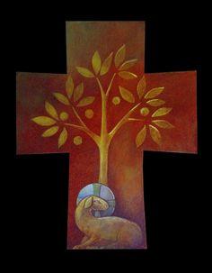 Christian Artwork, Christian Images, Religious Icons, Religious Art, Bible Illustrations, Illustration Art, Religion, Cross Art, Christian Symbols