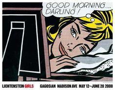 Shop - Roy Lichtenstein - Girls Poster
