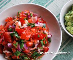 Tomato Salsa: 130 Kcals Per Serving www. Sauces, Salsa, Mexican, Ethnic Recipes, Food, Essen, Salsa Music, Meals, Gravy