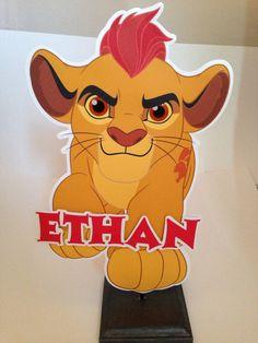 Lion Guard Centerpiece Kion The Lion Guard by TriniGirlTreats