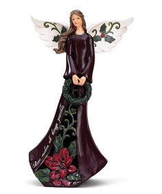 Another great find on #zulily! 'Love Makes All Things Possible' Angel Figurine #zulilyfinds