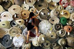 All the fabrics