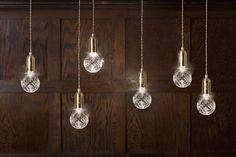 Clear Crystal Bulb pendant by Lee Broom — ECC Lighting & Furniture