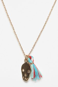 // UO Spyrock Skull Necklace