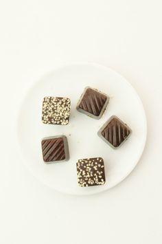 ヘンプシード入りローチョコレート #レシピ #スイーツ