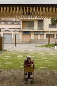 Plaza Victor J. Cuesta Reminds us of the Importance of Public Space Paving Design, Pond Design, Fence Design, Urban Landscape, Landscape Design, Landscape Architecture, Interior Architecture, Interior Design, Grass Carpet