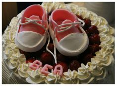 the cake Christening, Baby Shoes, Cake, Boots, Fashion, Crotch Boots, Moda, Fashion Styles, Baby Boy Shoes
