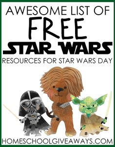 Awesome List of FREE Star Wars Resources for Star Wars Day If you have a Star Wars fan in your family, you will not want to miss this amazing list of FREE Star Wars Resources just in time for Star Wars Day! Theme Star Wars, Star Wars Games, Star Citizen, Star Wars Classroom, Giveaways, Star Wars Crafts, Star Wars Birthday, Diy Birthday, Birthday Cakes